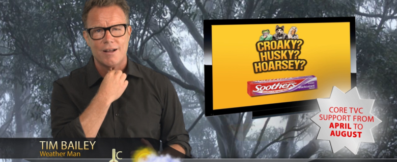 "Nestlé Medicated ""weather"" video"